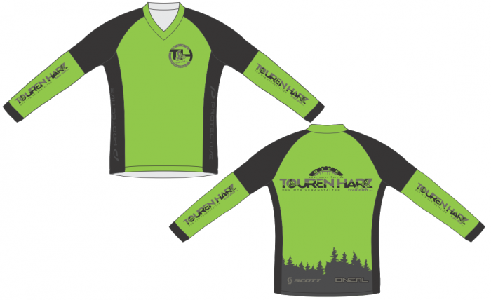 Bike-TOUREN HARZ-Trikot